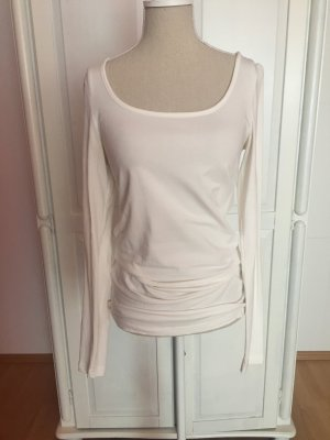 Basic Longsleeve Sweatshirt Top creme