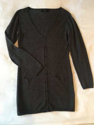 Basic must have, toller Long cardigan in Anthrazit