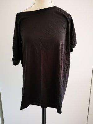 Basic Oversize Shirt von H&M Divided Gr.XS dunkelgrau/ anthrazit