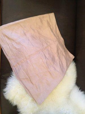 Basic: Pastell rosa Minirock in weicher Wildleder Optik  ♥neu♥