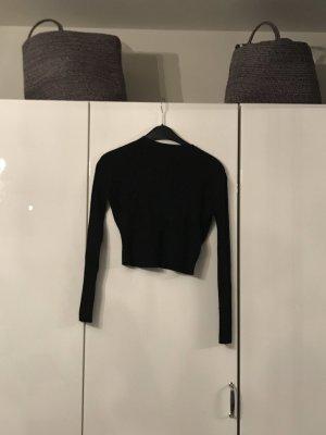 H&M Pull à manches courtes noir