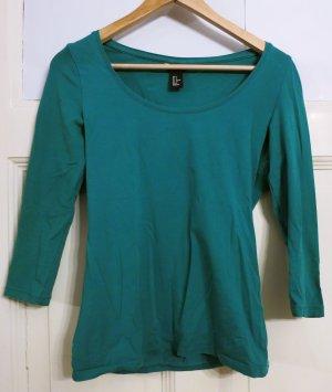 H&M Jersey de cuello redondo verde hierba-verde Algodón
