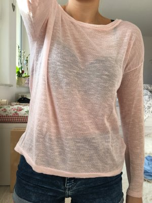 Basic Pulli in roséfarben