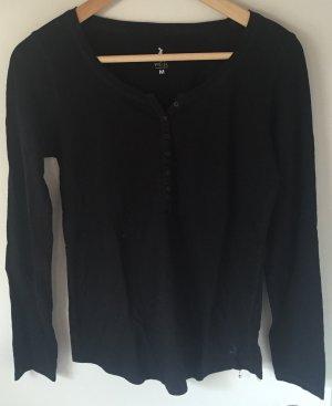 Basic Pulli in schwarz