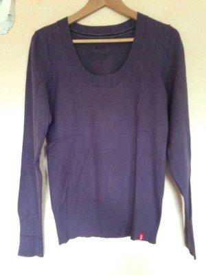 Basic Pulli Pullover edc bei Esprit Gr. M lila violett