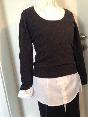 Basic-Pulli von Zara, Größe S, anthrazit