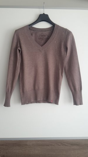 Basic Pullover in taupe von edc by Esprit