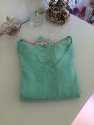 Basic Pullover Türkis