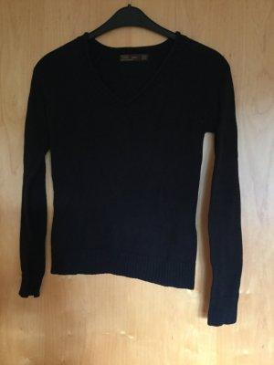 Basic Pullover Zara M schwarz