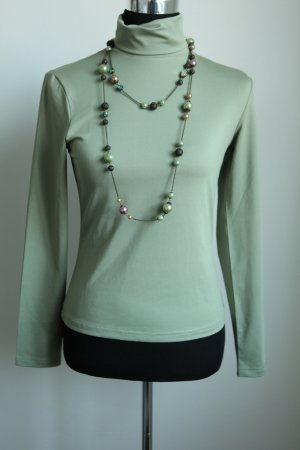 3 Suisses Turtleneck Sweater sage green
