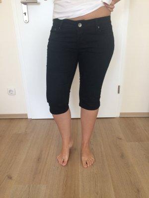 Basic schwarze 3/4 Hose in Gr. 36 (passt auch 38) von Orsay