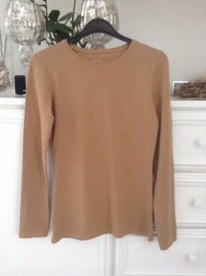 Basic-Shirt / beige / Gr. 36 S / NEU