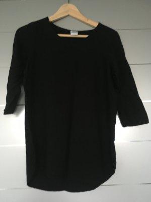 Basic-Shirt/Blusenoberteil schwarz 3/4 ärmlig Gr. S