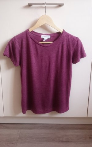 Basic Shirt bordeaux Gr. S