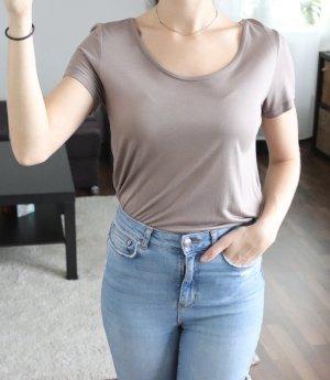 Basic Shirt Gr. XS braun