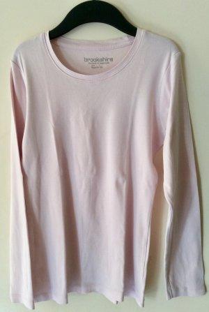Brookshire Top à manches longues rosé-rose clair