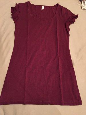 Basic Shirt (lang geschnitten)