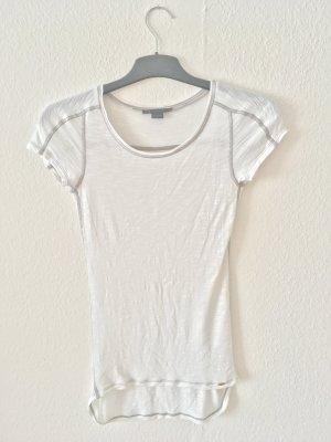 Armani T-Shirt white-grey viscose