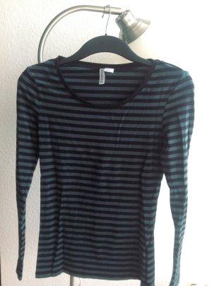 Basic Shirt mit Streifen