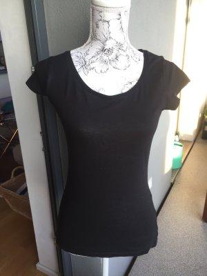 Basic Shirt schwarz Gr S Super Zustand