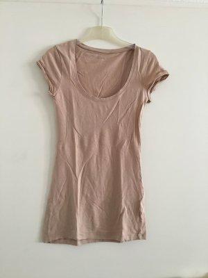 Basic Shirt | T-Shirt von modström nude altrosa rosa rosé taupe
