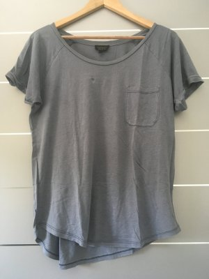Basic-Shirt taubenblau Gr. 40