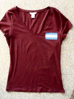 Basic Shirt von H&M mit TH Aufdruck