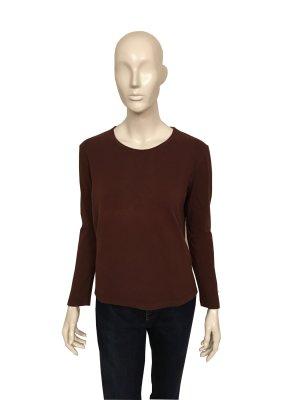 Basic Shirt von Windsor – langarm - dunkelbraun