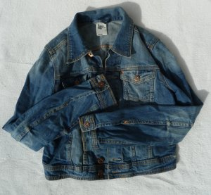 Basic Sommerliche Jeansjacke Denim Basic Jeans Cool