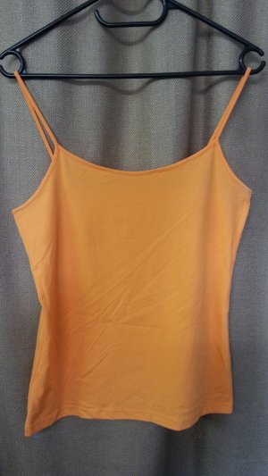 Basic Spaghettitop von H&M in orange