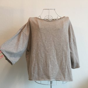 Basic Sweatshirt 3/4 Arm Oversize