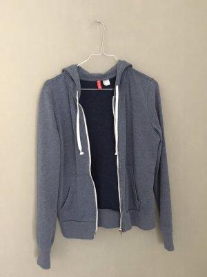 H&M Chaqueta con capucha gris pizarra