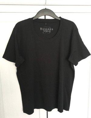 Basic T-Shirt Gr. 46/48 - schwarz