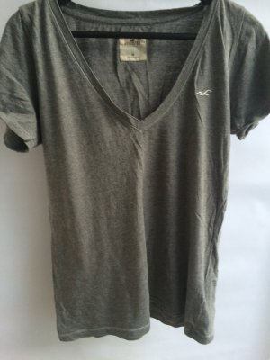 Basic T-Shirt Hollister grau