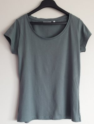 Basic T-Shirt in blau