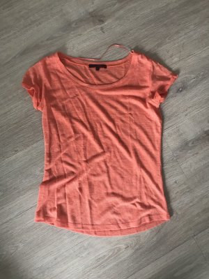 Basic T-Shirt in Orange