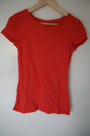 Basic T-Shirt Marc O'Polo rot