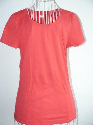 Basic T-Shirt mit schönem Rundhalsausschnitt von S. Oliver