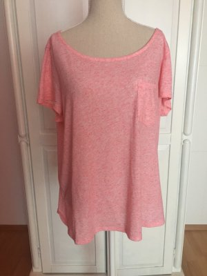 Basic T-Shirt rosa pink oversized