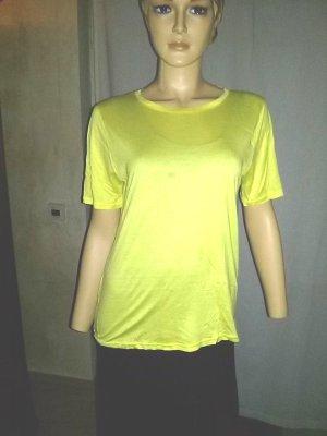 Basic -T-shirt von Calida -Gr.XS-gelb