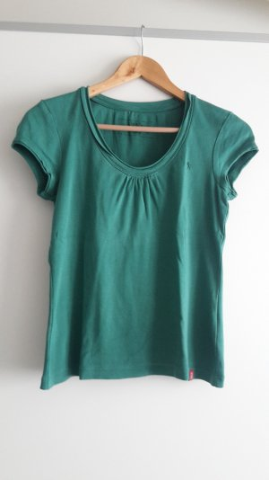 Basic T-Shirt von EDC by Esprit in petrol