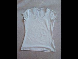 Basic T-Shirt von STREET ONE Größe 36 weiß