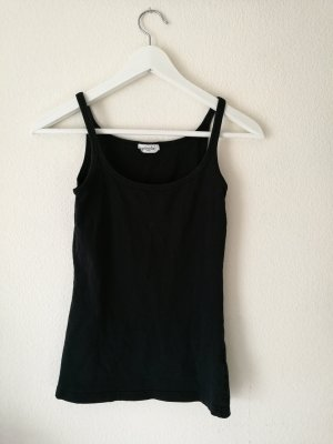 Basic-Tanktop in schwarz