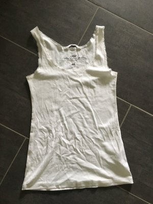 H&M Basic Top white