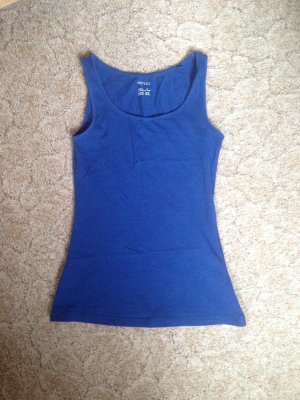 Basic Top Blau in XS