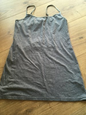 H&M Top basic grigio