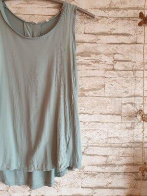 Opus Long Top pale blue-sage green