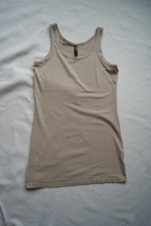 basic Top/Longtop in beige