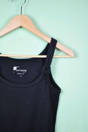 Basic Top / Tanktop / Shirt von Orsay mit Knoten