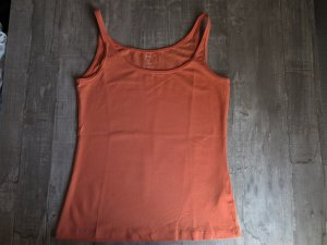 Basic Top/Tanktop von H&M in orange